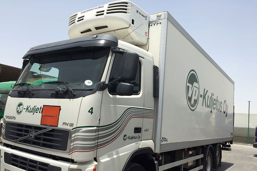 freezer truck rental dubai chiller truck