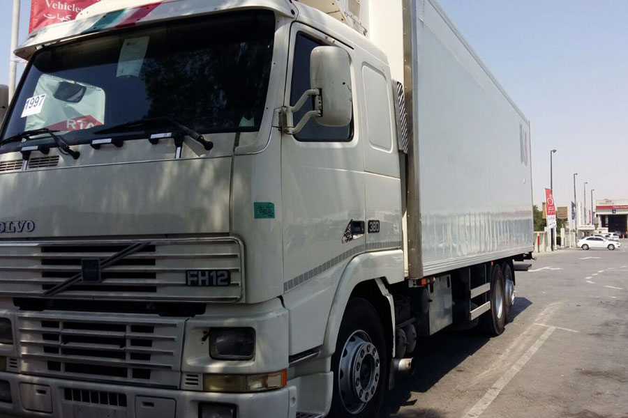 refrigerated transport dubai chiller truck for hire dubai