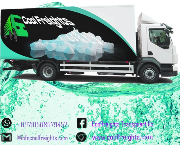 Chiller Truck for Rent in dubai