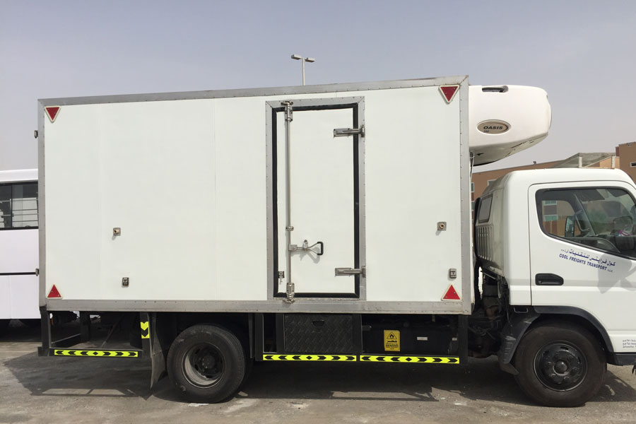 chiller truck for hire dubai refrigerated truck rental dubai