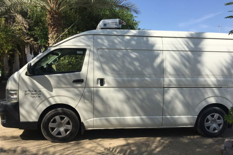 chiller truck for hire dubai refrigerated vans for rental dubai