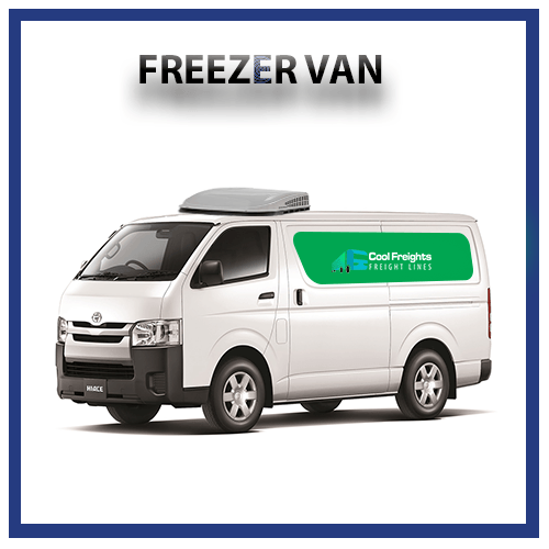 freezer van for rent