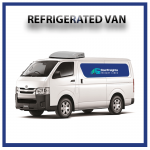 Refrigerated van for rent
