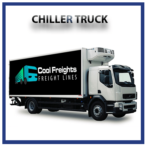 chiller truck for Rent