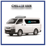 chiller van for rent