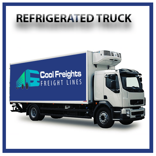 Refrigerated Truck for rent