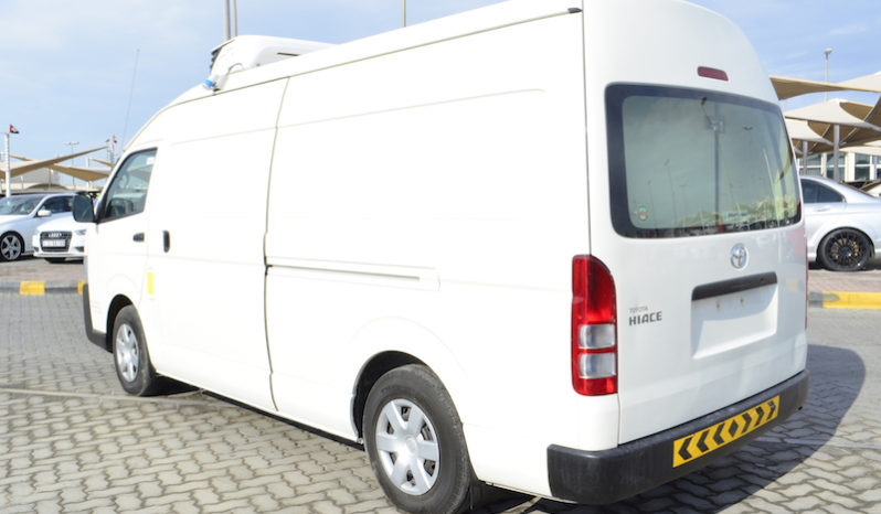 chiller van rental